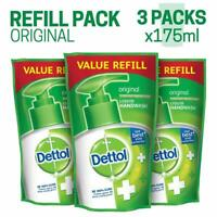 Dettol Liquid Hand Wash Refill 100% Original - 175ml (Pack of 3) Free Shipping