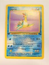 Pokémon Karte Lapras Rare 1. Edition Fossil 25/62 TCG Sammelkarte