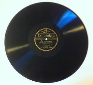 78T LP 78rpm TINO ROSSI Loin des guitares & Bella Ragazzina COLUMBIA 1936
