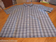 Men's Quiksilver short sleeve HAZ button up shirt martinson small S surf skate