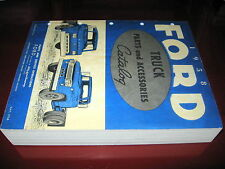 1958 Ford Truck NEW ORIG! Parts Catalog_F-100/F-250/F-350 to 1100_T,C,P,B Models