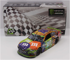 NASCAR 2017 KYLE BUSCH #18 MARTINSVILLE RACE WIN HALLOWEEN M&MS CANDY 1/24 CAR