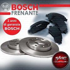 DISCHI FRENO E PASTIGLIE BOSCH MERCEDES CLASSE A W169 A180 CDI 80 kW ANTERIORE