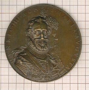 superbe gde Médaille par Dupré Henri IV et Marie de médicis