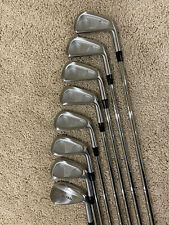 Miura CB-57 Irons 4-P 51 Y Grind Modus 105 XStiff Iron Set RH Mint Condition
