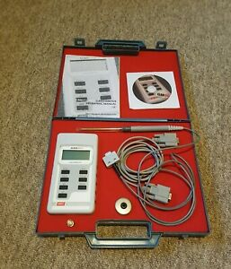 Hirst gaussmeter, GM08 with case, including software for data logging