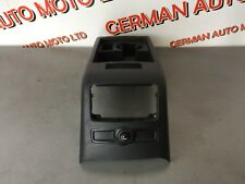 AUDI A6 C6 2004-2008 CENTER CONSOLE REAR CUP DRINK HOLDER IN BLACK 4F0863244C