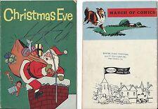 MARCH OF COMICS 212 CHRISTMAS EVE MINI SANTA CLAUS COMIC GIVEAWAY PROMO F+ 1960