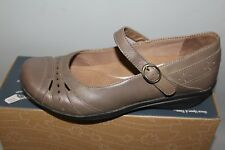 NEW Womens Dansko Mathilda Eur 41 / US 10.5-11 Dk Taupe Comfortable Mary Janes