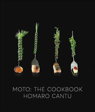 Moto : The Cookbook by Homaro Cantu (2017, Hardcover)