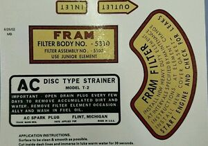 Willys MB engine detail decal set