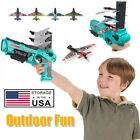 Airplane Launcher Bubble Catapult Plane Toy Catapult Gun   Outdoor Sport Toys US