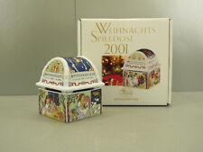Hutschenreuther Weihnachts Spieldose - 2001 - SU 253