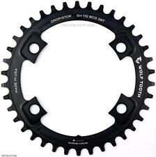 Wolf Tooth Drop-Stop 38T x 110 Shimano Asymmetric CX/Road Bike Chainring 1x NW