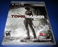 Tomb Raider Sony PlayStation 3 - Ps3 - *Factory Sealed! *Free Shipping!