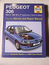 PEUGEOT 306 1993 ~ 1999 PETROL & DIESEL HAYNES SERVICE & REPAIR MANUAL