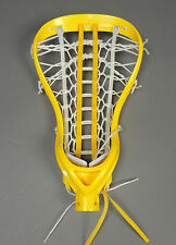 NEW Womens Debeer Tempest Strung Lacrosse Head Yellow Retails $99.99