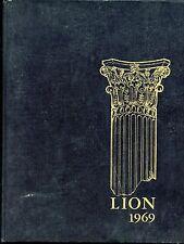 Leo High School (Chicago, IL) ORIGINAL 1969 yearbook history genealogy