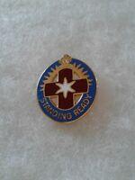Authentic US Army Hawley Community Hospital Unit DI DUI Crest Insignia G23