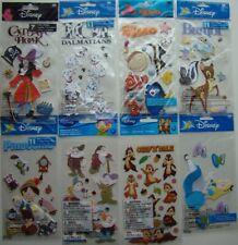 LOT OF 8 EK Success DISNEY MOVIE / CHARACTER Stickers NEW! Hook Nemo Bambi Chip