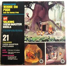 Winnie the Pooh and the Honey Tree GAF Talking Viewmaster Reels in Box
