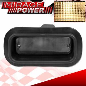Universal Rear Fog Lights Smoke Tinted Lens Driving Bumper Replacement JDM