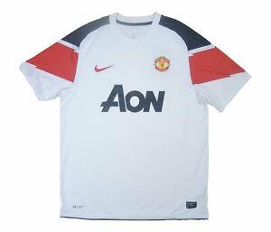 Manchester United 2010-12 Original Away Shirt (Excellent) L Soccer Jersey