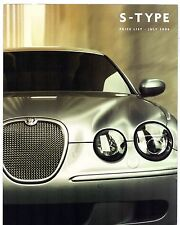 Jaguar s-type prix & facultatif extras 2006-07 uk market brochure 3.0 4.2 r 2.7D