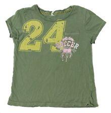 Green Pink Girls Soccer 24 T-Shirt