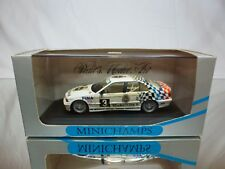 MINICHAMPS BMW 318i E36 ADAC TW CUP 1984 - BURGSTALLER WHITE 1:43 - GOOD IN BOX