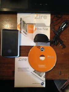 PALM ZIRE M150 Handheld Pocket PDA with Stylus & Extras