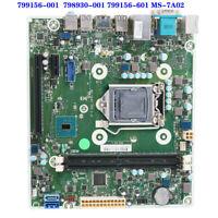 100% Tested FOR HP ProDesk 400 G3 SFF Motehrboard  799156-001 798930-001