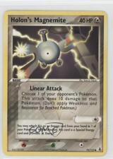 2005 Pokémon EX Delta Species Booster Pack Base #70 Holon's Magnemite Card 2f4