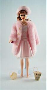 Barbie Doll, Pink 'Fur' Coat Loose, no packaging MAT-104