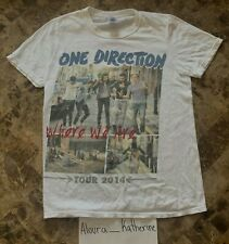 ONE DIRECTION WHERE WE ARE TOUR 2014 T-SHIRT MENS SIZE SMALL EUC