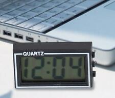 Desk Digital LCD Clock for Home Auto Car Dashboard Mini With Date Time Calendar