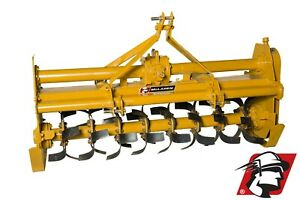 """Rotary Tiller 75"""" Wide Category 1 3-Point Heavy Duty PTO Drive"""