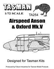 Tasman 1/72 Vacform Canopy TA254 Airspeed Oxford Canopy