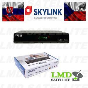 Skylink Ready TESLA TE-3000 Full HD Satellite Receiver IRDETO for Skylink cards
