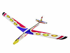 Lanyu Hand Launch Balsa Wood Glider Plane DIY Build&Paint Model Kit, US 8030