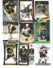 Lot of 1700 Boston BRUINS Hockey Cards Set Boxed Packs - Bergeron Bourque Rask