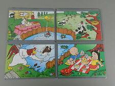 PUZZLE: Looney Tunes (2. Serie) 1997 - Superpuzzle + alle 4 BPZ