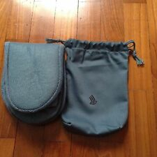 Singapore Airlines Business Class AMENITY KIT -padded Socks with drawstring bag
