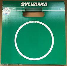 2 x 40W T9 Warm White Sylvania Circular Fluorescent tube Round  830 40 Watt