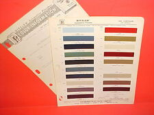 1963 CHRYSLER IMPERIAL LEBARON 300J CONVERTIBLE INDY 500 PACE CAR PAINT CHIPS