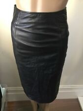 SZ 6 GORMAN LEATHER SKIRT  *BUY FIVE OR MORE ITEMS GET FREE POST