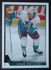 NHL 506 shaun van allen Mighty Ducks of Anaheim Upper Deck 1993/94