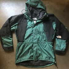 Men's Vintage The North Face TNF Gore-Tex Mountain Light Green Parka Jacket Sz L