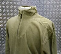 Genuine British Army PCs Thermal Undershirt / Fleece Light Green All Sizes - NEW