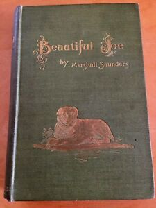 1894 Beautiful Joe by Marshall Saunders -  Hardback with decorated cover antique